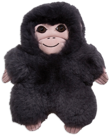 Chimpanzee Lambskin Soft Toy