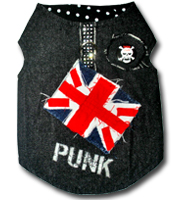 PUNK Union Jack Harness
