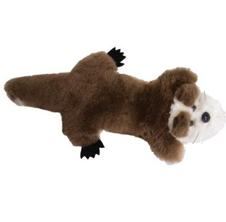 Sea Otter Lambskin Soft Toy