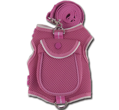 Backpack Harness Pink