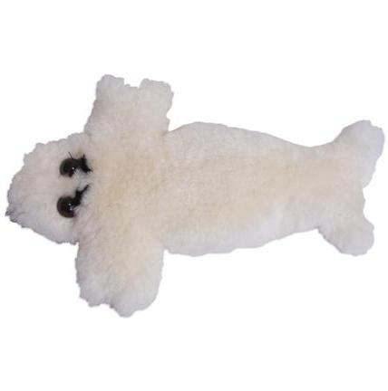 Seal Pup Lambskin Soft Toy