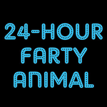 24-Hour Farty Animal