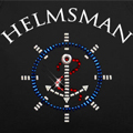 Helmsman with Ship Wheel & Anchor Bling